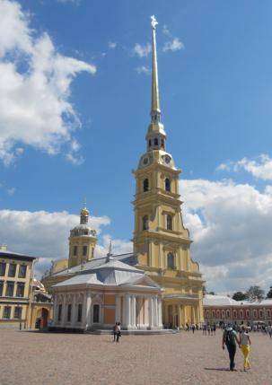 St.Petersburg_Peter&Paul Catherdral