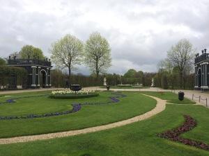 Gardens of Schonbrunn Palace in Vienna, Austria