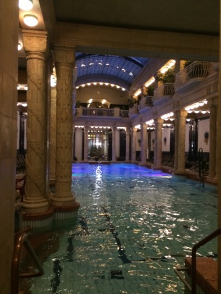 Gellert Thermal Baths of Budapest, Hungary