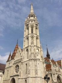 St. Matthias Church in Budapest, Hungary