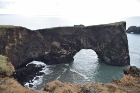 Dryholaey cliff