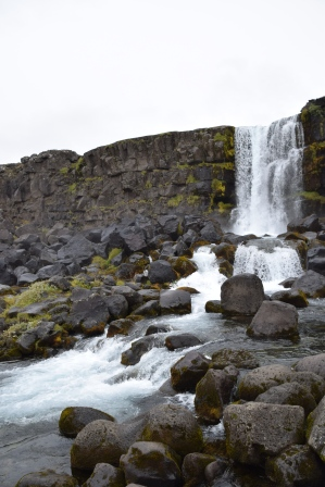 Oxararfoss at Thingvellir National Park, Iceland