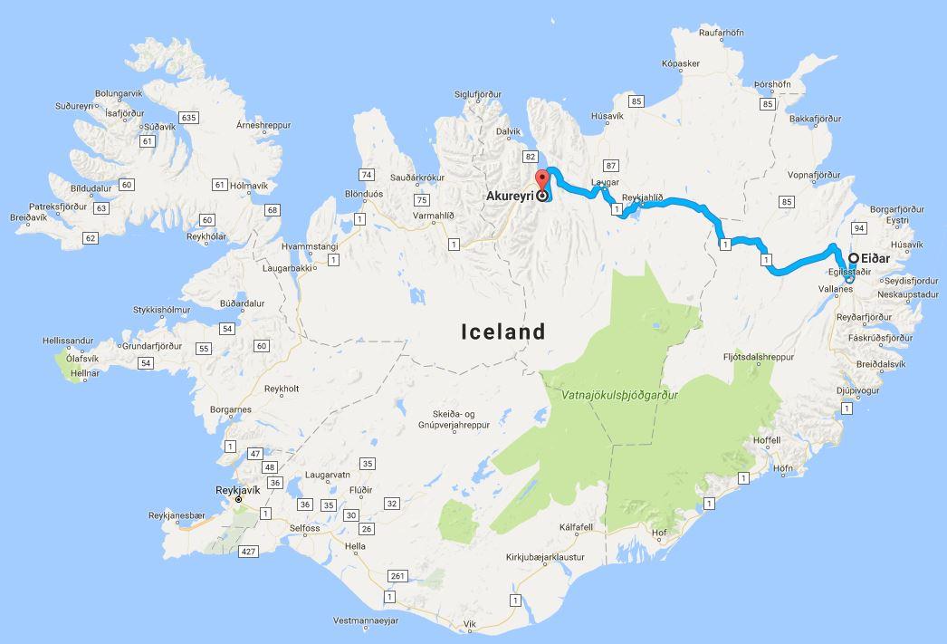 8_day_iceland_ring_road_itinerary_eidar_to_akureyri